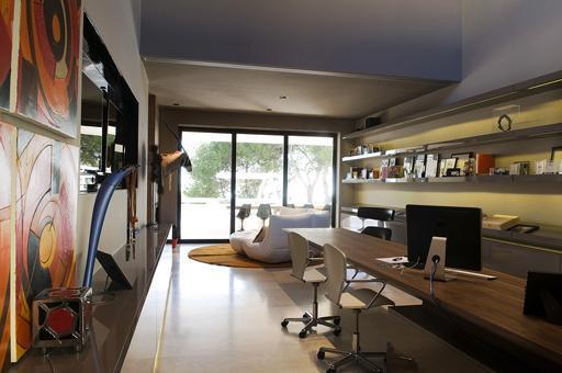 La decoraci n inteligente espacios de trabajo estudio Decoracion de espacios de trabajo