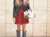 Hats Trend Burgundy Dress