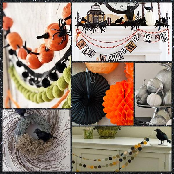 Ideas para una decoraci n halloween elegante paperblog - Ideas decoracion halloween fiesta ...