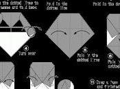 Drácula Halloween papel (papiroflexia)