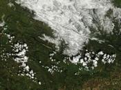 Nevadas febrero- marzo vistas desde espacio