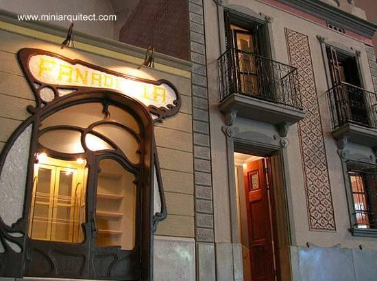 Maquetas de casas modernistas de barcelona paperblog - Casas modernistas barcelona ...