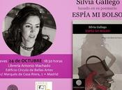 """Silvia gallego leerá poemas libro """"espía bolso"""" octubre librería antonio machado madrid"""