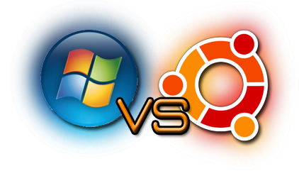 Microsoft Windows 8 Vs Ubuntu 13.10 Saucy Salamander