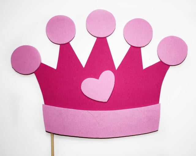 Photocall para fiestas infantiles paperblog - Modelos de coronas ...