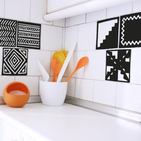 Vinilos decorativos para renovar tu cocina paperblog for Alfombras de vinilo para cocina