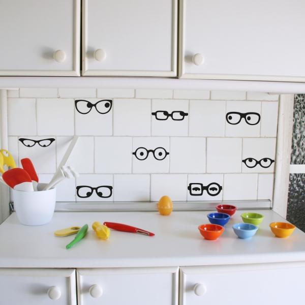 Vinilos decorativos para renovar tu cocina paperblog for Azulejos decorativos cocina