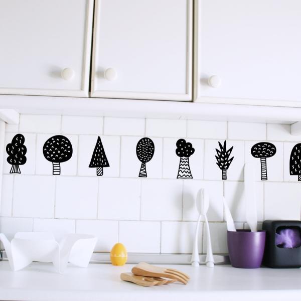 Vinilos decorativos para renovar tu cocina paperblog - Vinilos decorativos cristales cocina ...