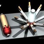 Diseño conceptual de Ron Mendell para Iron Man 3
