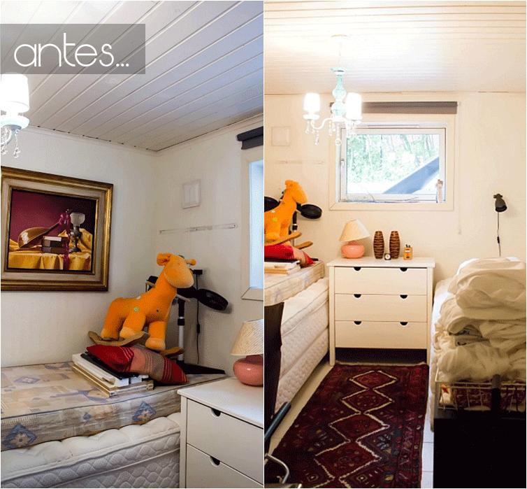Antes s habitaci n de invitados paperblog - Habitacion de invitados ...