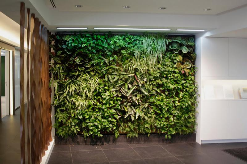 Jard n vertical de interior en madrid paperblog for Jardin artificial interior