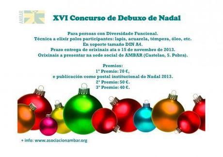 XVI Concurso de Dibujos de Navidad de la Asociación AMBAR