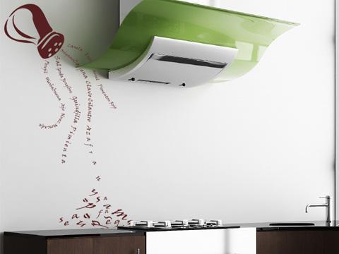 Decorar las paredes en la cocina paperblog - Dibujos de cocina ...