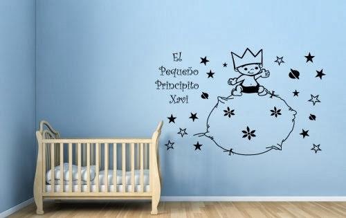 Ideas para decorar con vinilos infantiles paperblog - Frases para vinilos habitacion ...