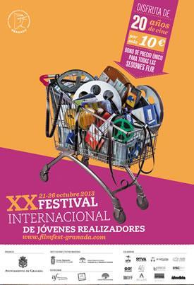 Jueves 25 de octubre, llega la tercera jornada de la vigésima edición del Festival Internacional de Jóvenes Realizadores de Granada