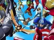 anime Marvel, Vengadores: Marvel Disk Wars