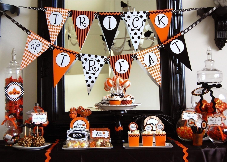 Halloween candy bar paperblog - Childrens halloween decorations ...