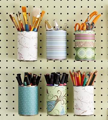Diy reciclar latas de conserva paperblog - Colores para reciclar ...