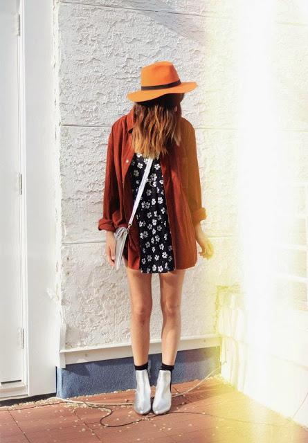 Outfit: Ponte un sombrero este otoño