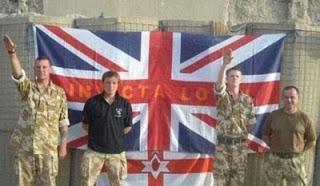Fotos de soldados británicos con saludo nazi en Afganistán