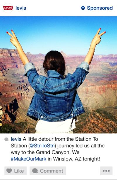 Los primeros anuncios hechos para Instagram