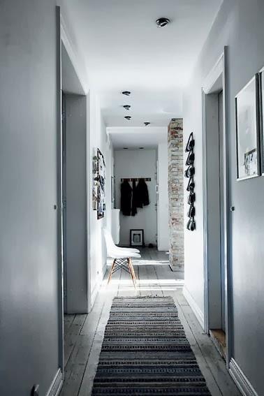 Decorar pasillos paperblog - Como decorar un pasillo estrecho y oscuro ...