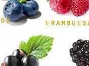 Frutas: bayas