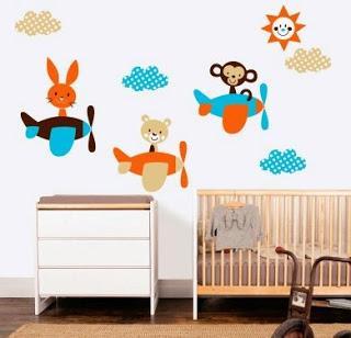 Vinilos decorativos para habitaciones infantiles paperblog for Vinilos para decorar habitaciones infantiles