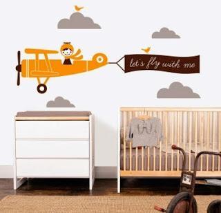 Vinilos decorativos para habitaciones infantiles paperblog for Habitaciones infantiles vinilos