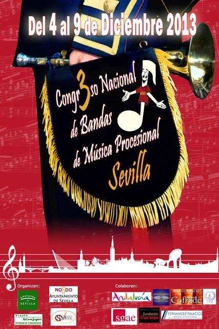 III CONGRESO NACIONAL DE BANDAS DE MÚSICA PROCESIONAL. SEVILLA