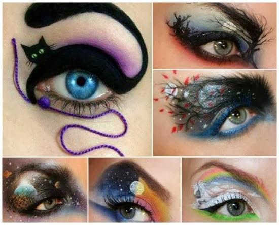 Maquillaje y Nail Art para Halloween Ideas para este BeHalloween. UÑAS