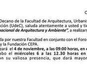 Quinto Congreso Internacional Arquitectura Ambiente