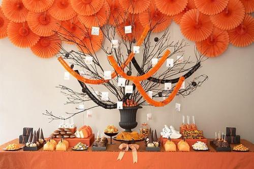 Mesas Decoradas Para Halloween Paperblog