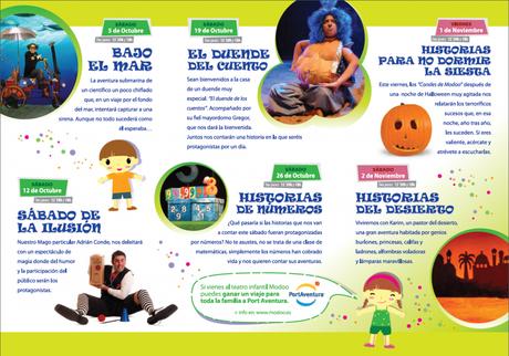 Planes con niños en Oviedo del 1 al 7 de noviembre
