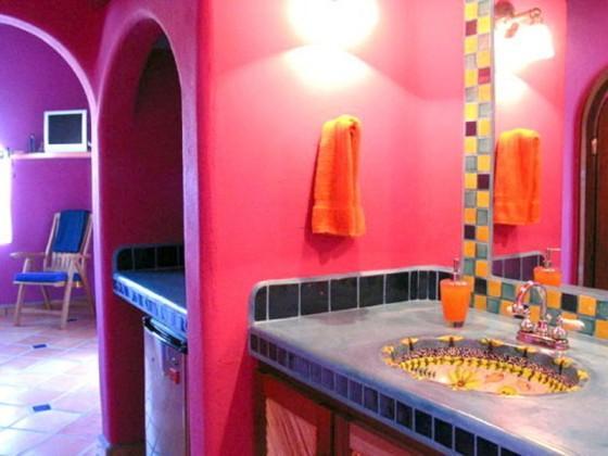 Decoraci n de ba os estilo mexicano paperblog for Azulejos estilo mexicano