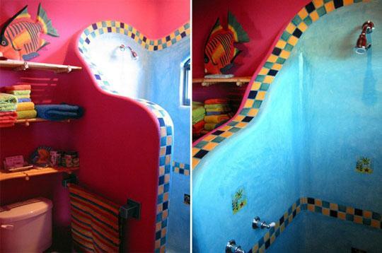 Baños Decorados Estilo Mexicano:puede ser variado ,hoy proponemos el estilo de decoración mexicano