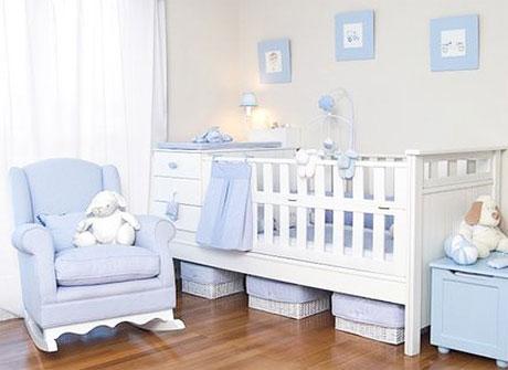 Decoraci n del dormitorio del beb var n paperblog - Dormitorios para nino ...