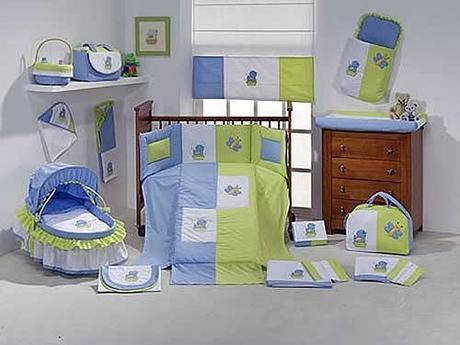 Decoración del dormitorio del bebé varón - Paperblog