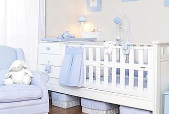 Decoraci n del dormitorio del beb var n paperblog for Dormitorio bebe varon