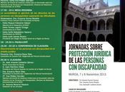 Jornadas sobre Protección Jurídica Personas Discapacidad