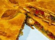 Como hacer empanada Gallega pulpo, receta fácil