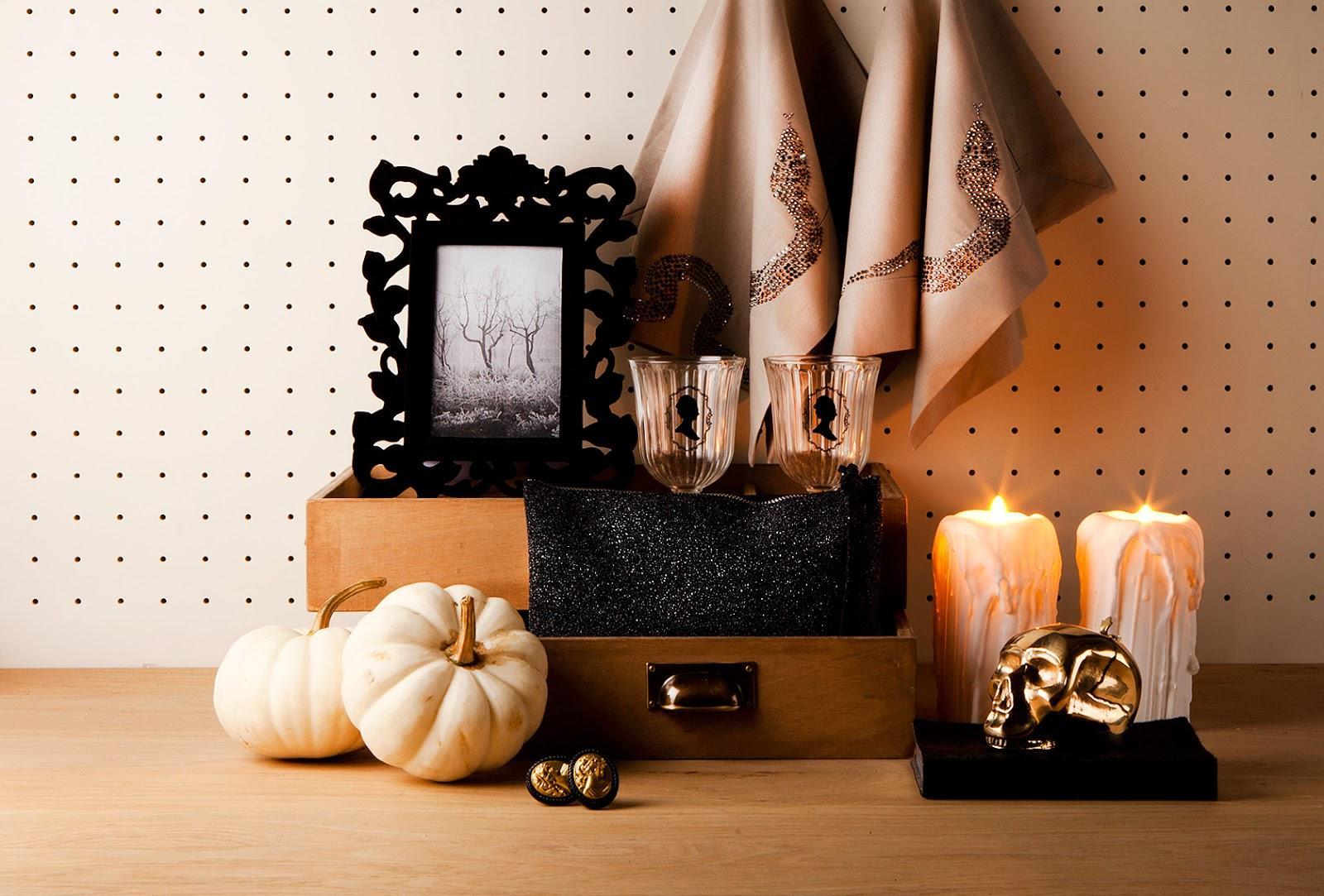 halloween chic en zara home paperblog. Black Bedroom Furniture Sets. Home Design Ideas