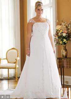 espero que alguno de estos modelos de vestidos de novias para gorditas