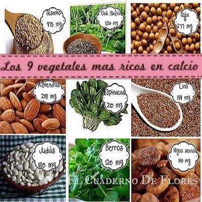 Los 9 vegetales m s ricos en calcio cuidas tus huesos - Alimentos que tienen calcio ...