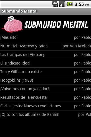 Submundo Mental en Android
