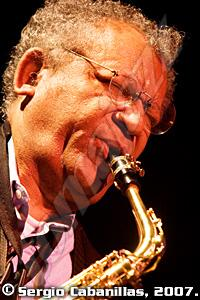 Anthony Braxton Diamond Curtain Wall Trio (XXVI Festival de Jazz San Juan Evangelista. 26-X-2007)