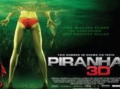 Póster, imágenes metraje Piranha 3D...