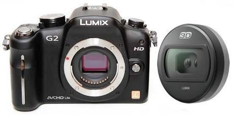 Panasonic 3D lens, lente intercambiable para Lumix serie G