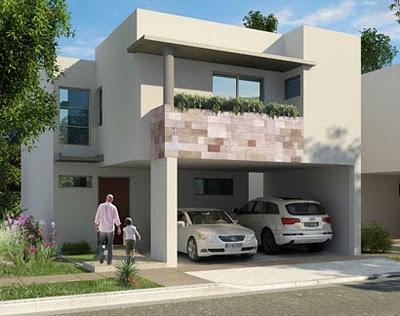 Renders de casas en fraccionamiento valle de las alamedas for Casas modernas renders