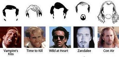 WTF??? El pelo de Nicholas Cage